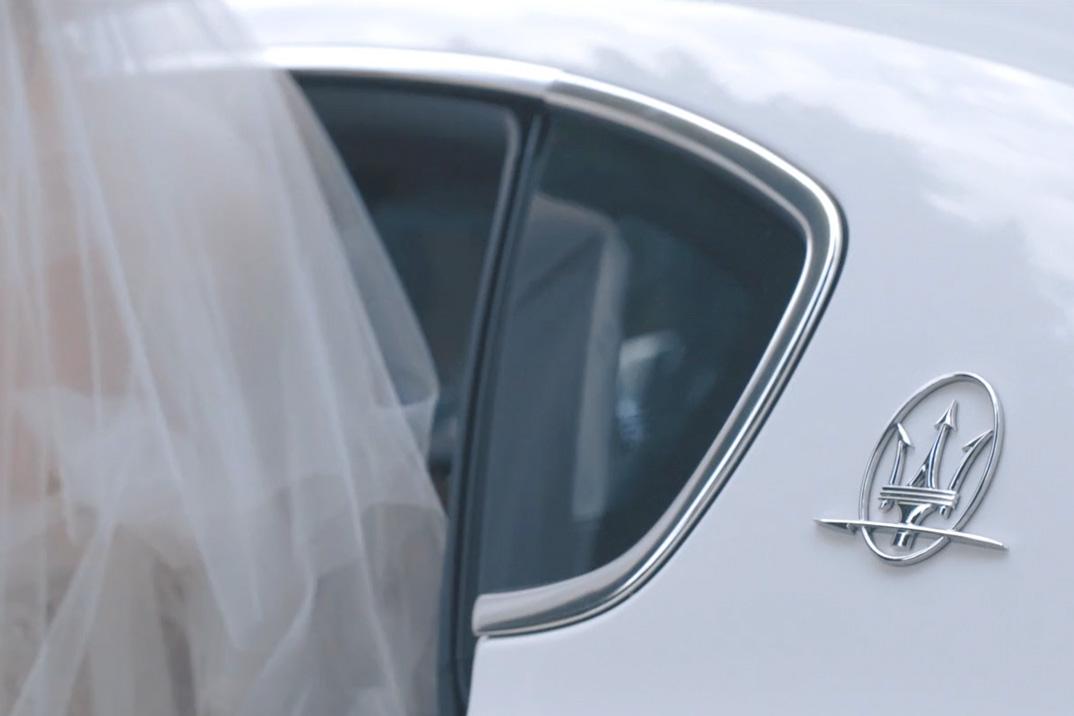 Maserati Wedding Car Italy